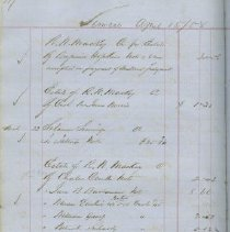 Image of Page 117, Thomas Mclauglin Day Book, Simcoe