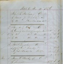 Image of Page 1, Thomas Mclauglin Day Book, Waterloo