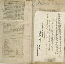 Image of Pages 1-2,  Southampton Library members subscriptions book