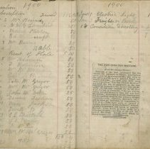 Image of Pages 3-4,  Southampton Library members subscriptions book
