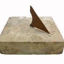 Image of 962.030.001a/b - Sundial