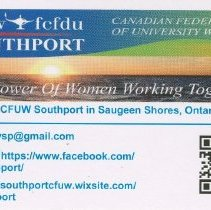 Image of CFUW Southport business card