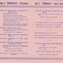 Image of Southampton Centennial Program, page 2
