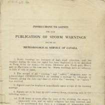 Image of Instructions to Agents for the Publication of Storm Warnings, page 3