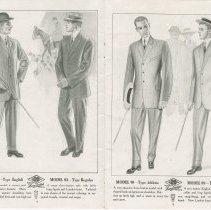 Image of Dress Catalogue, F.R. Barber, Port Elgin, pages 6 & 7