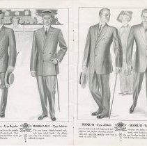Image of Dress Catalogue, F.R. Barber, Port Elgin, pages 8 & 9