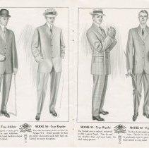 Image of Dress Catalogue, F.R. Barber, Port Elgin, pages 10 & 11