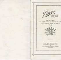 Image of Dress Catalogue, F.R. Barber, Port Elgin,  inside front page & page 3