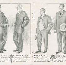 Image of Dress Catalogue, F.R. Barber, Port Elgin, pages 12 & 13