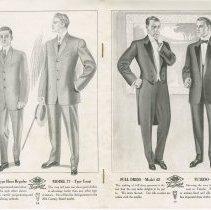 Image of Dress Catalogue, F.R. Barber, Port Elgin, pages 14 & 15