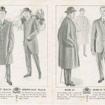 Image of Dress Catalogue, F.R. Barber, Port Elgin, pages 16 & 17