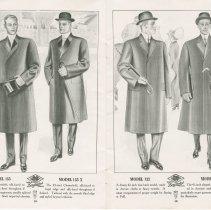 Image of Dress Catalogue, F.R. Barber, Port Elgin, pages 18 & 19
