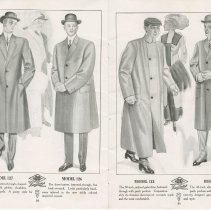 Image of Dress Catalogue, F.R. Barber, Port Elgin, pages 20 & 21