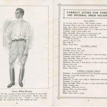 Image of Dress Catalogue, F.R. Barber, Port Elgin, pages 24 & 25