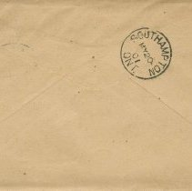 Image of Envelope to Dr. P.j. Scott, May 1901, back