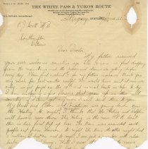 Image of Letter to Dr. P.j. Scott, June 20