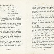 Image of Souvenir of S.S. No. 8 Kinloss, pages 4-5