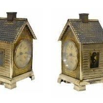 Image of 967.036.005a/b - Clock, Alarm