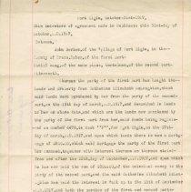 Image of Davies-Haug Agreement 1917