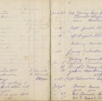 Image of A961.003.016 Page 36 And 37 - Cove Island Lighthouse Visitors' Book