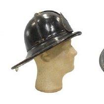 Image of 2007.100.038 - Helmet, Firefighter's