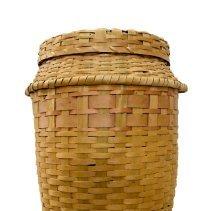 Image of 2013.012.001a/b - Basket, Laundry