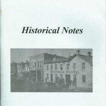 Image of A2006.044.001 - Historical notes