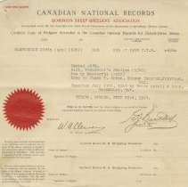 Image of A2012.010.021-.024 - Canadian National Records - Dominion Sheep Breeders' Association