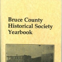 Image of AX2008.001.020 - Bruce County Historical Society yearbook 1986