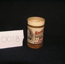 Image of 1966-043-0018 - Cylinder, Audio