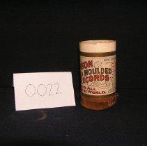 Image of 1966-043-0022 - Cylinder, Audio