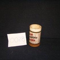 Image of 1966-043-0028 - Cylinder, Audio