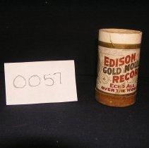 Image of 1966-043-0057 - Cylinder, Audio