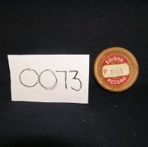 Image of 1966-043-0073 - Cylinder, Audio