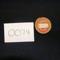 Image of 1966-043-0074 - Cylinder, Audio