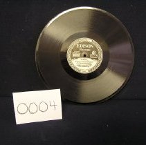 Image of 2002-064-0004 - Recorder, Audio Disk