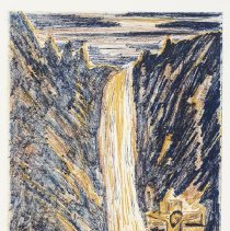 Image of Shives, Arnold - Waterfall Cross IV (ed. 40/40)
