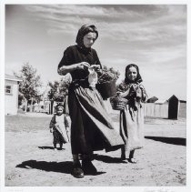 Image of Hunter, George - Young ladies at Raley Hutterite Colony, Lethbridge, Alberta, c 1948
