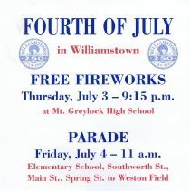 Image of Williamstown Fourth of July Parade