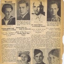 Image of WWII Scrapbook: Page 25