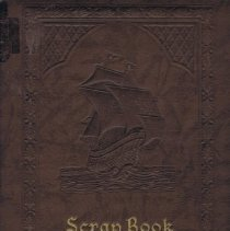 Image of WWII Scrapbook: Leather Cover