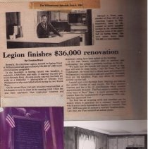 Image of American Legion Scrapbook Excerpt