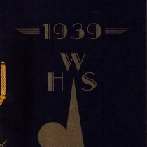 Image of WHS Yearbook - 1939