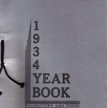 Image of 1934 WHS Yearbook