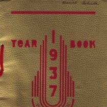 Image of 1937 WHS Yearbook