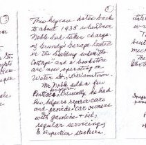 Image of Grundy's Garage Key Case - Note from Donor