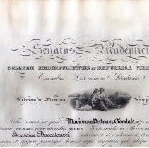 Image of Marion Goodale College DIploma, 1934
