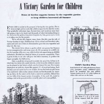 "Image of ""A VIctory Garden for Children"""