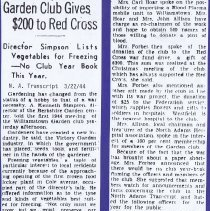 "Image of ""Garden Club Gives $200 to Red Cross"""