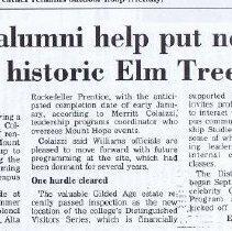 Image of Mount Hope Farm/ Elm Tree House material